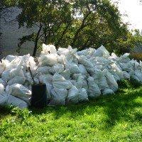 Вывоз мусора из дачных домов и коттеджей
