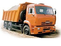 Вывоз строительного мусора камазом